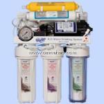 دستگاه تصفیه آب خانگی واترسیف شش مرحله ای بدون پایه _ مدل WS12100BL