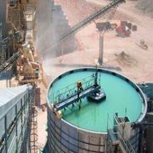 تصفیه آب در صنایع معدنی، فولاد و سیمان