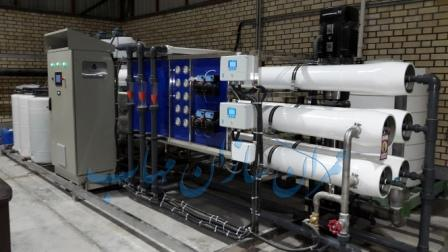 آب شیرین كن صنعتی industrial Desalination devices filtration