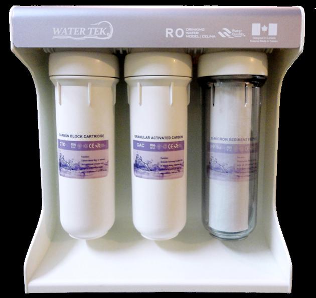 دستگاه تصفیه آب WATERTEK مدل CELINA-purple
